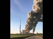 Pavia, esplosione in una raffineria Eni