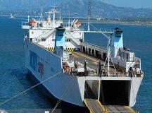 """Paura e panico questa notte a bordo della nave Cargo della Moby """"Giuseppe Sa"""""""